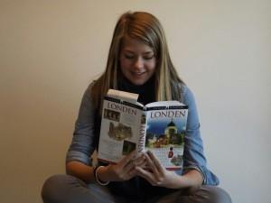 Hyper, creatief, expressief, boeken en reizen: typisch Franka