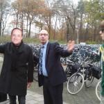 President Hollande bezoekt Staring College