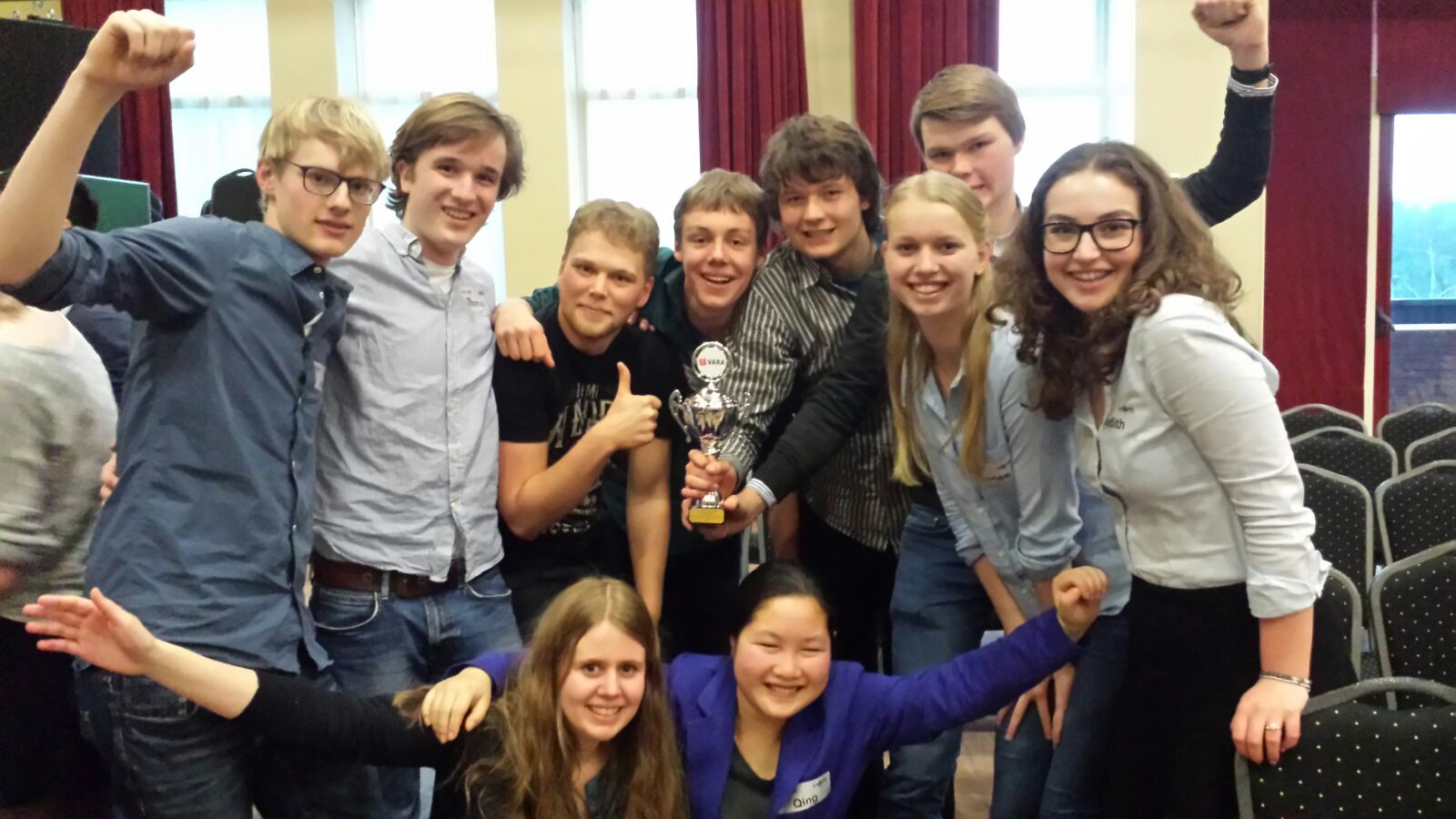 Staring debatteam wint tweede prijs debatwedstrijd
