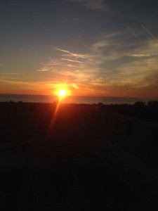 4 zonsondergang