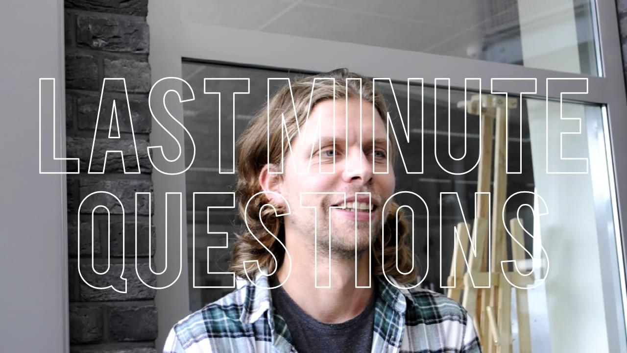 Meneer Liebrand – Last minute questions