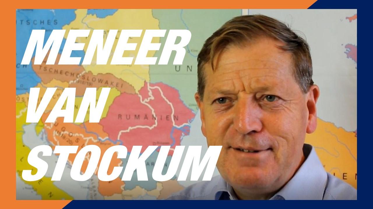 Meneer Van Stockum houdt niet zo van Nederlands… | 5T