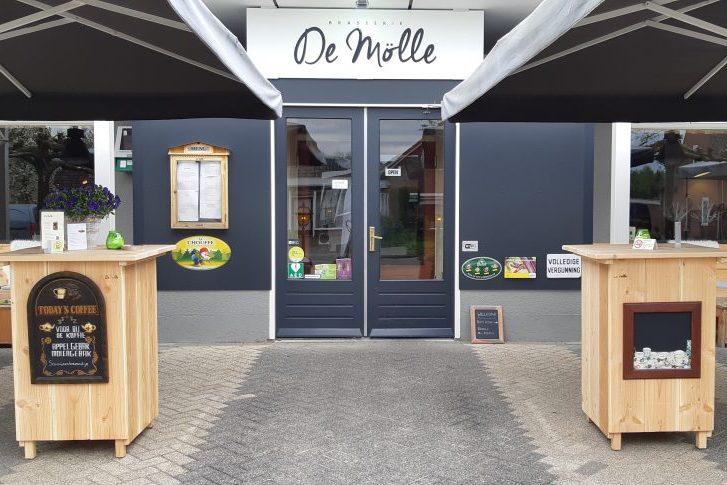 Vakantiewerk bij Brasserie de Mölle