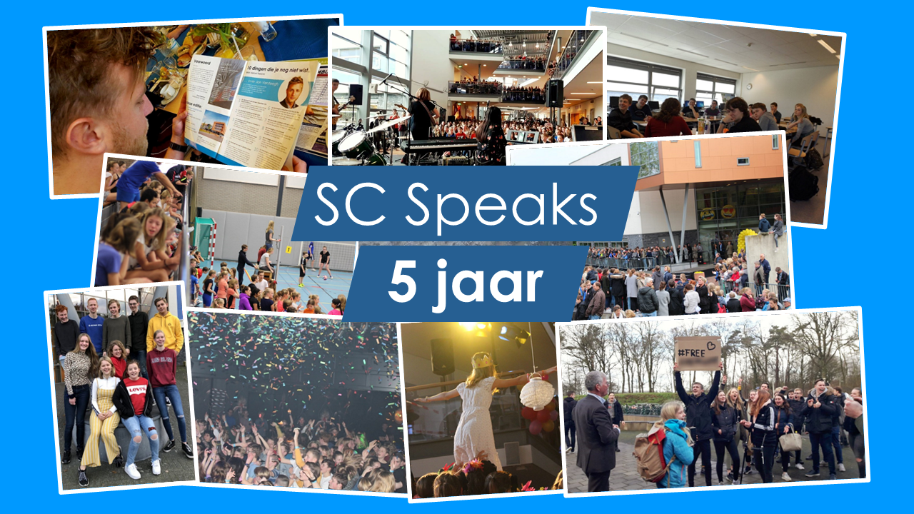 "5 jaar SC Speaks: ""SC still Speaks"""