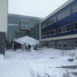 Sneeuw sloopt pauzetent, Staring volledig online voor twee dagen
